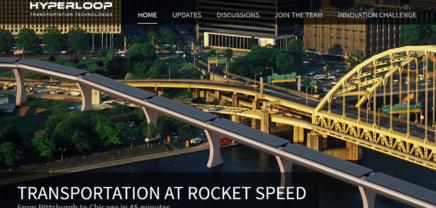 """Hyperloop: """"Reisen ist unzumutbar, wir werden das ändern"""""""