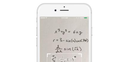 Kein Kopfzerbrechen: MathPix löst jede Rechnung