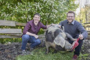 (c) Julia Rauchenberger - Nahgenuss vertreibt Bio-Schweinefleich und ist unter den 10 Finalisten bei Greenstart.
