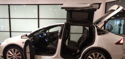 Einsatz in Manhatten – mit dem Tesla Model X