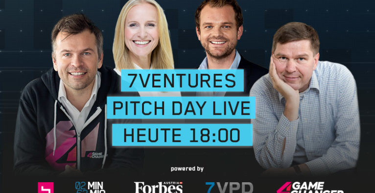7Ventures Pitch Day: 25.000 Euro für zwei Minuten