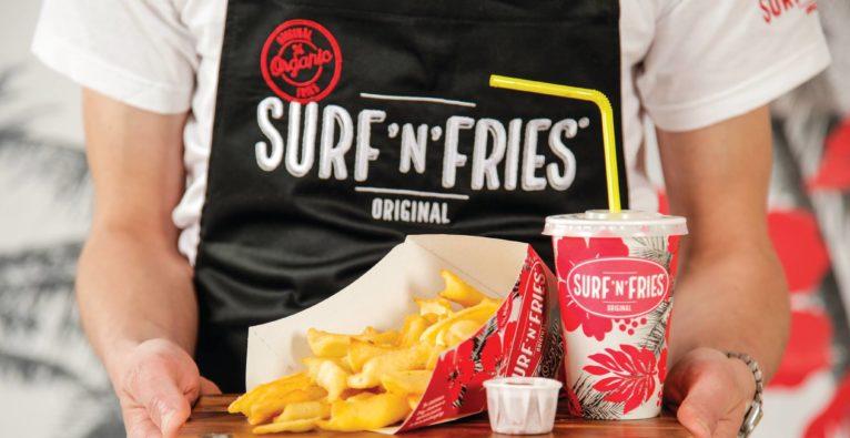 Surf'n'Fries: Von der Pommfree-Bar zu 2 Filialen im Einkaufszentrum