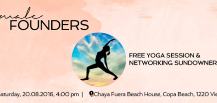 Female Founders Yoga Meetup