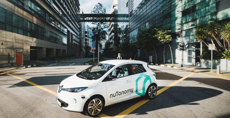 NuTonomy testet weltweit erste Robotertaxis