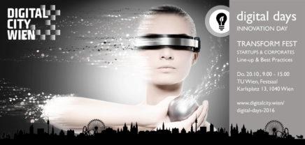 Das Transform-Fest: Startup Vienna at DigitalDays2016