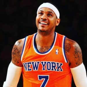 (c) Facebook Carmelo Anthony