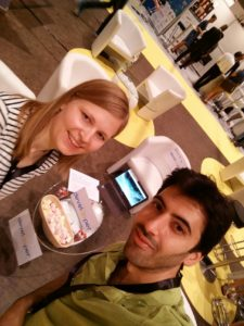 (c) Develooper: Die beiden Founder Kathrin Treutinger und Ammar Al Kathib