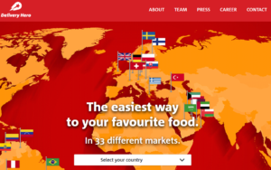(c) Screenshot Delivery Hero