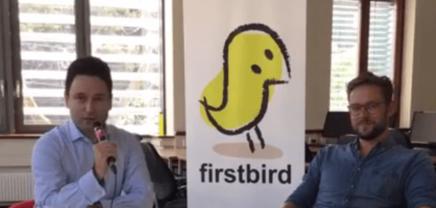 LIVE: Arnim Wahls, der Founder und CEO von Firstbird im Gespräch.