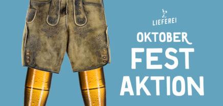O'zapft is! Oktoberfest-Special von Lieferei & Brutkasten