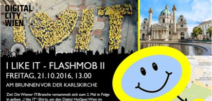 DigitalDays Wien: Flashmob am Karlsplatz soll auf IT-Branche aufmerksam machen