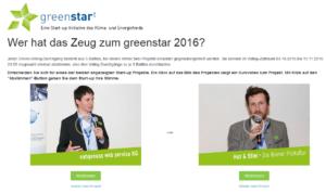 (c) Screenshot greenstart.at