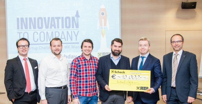 Cashpresso gewinnt Innovation to Company Challenge der RZB-Gruppe