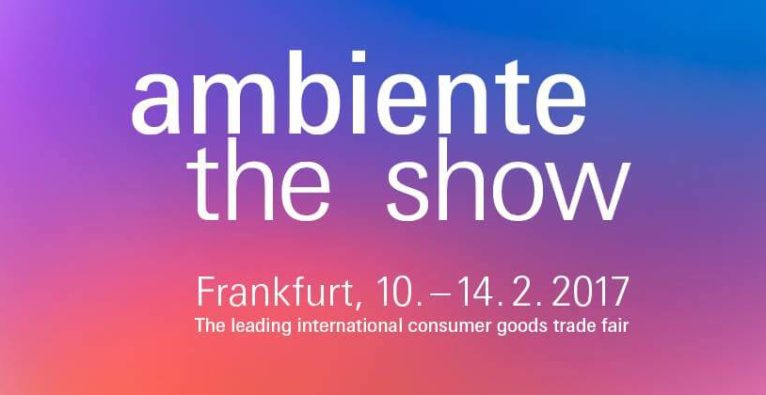 Ambiente, Messe Frankfurt – the leading international consumer goods trade fair