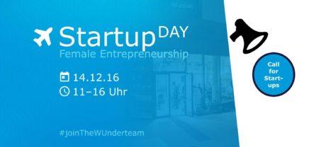 StartupDay Female Entrepreneurship