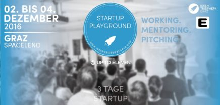 Startup Playground – From Sandpit to Business