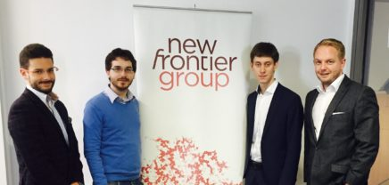 Innovation to Company: New Frontier Group will mit PredictR Banken helfen