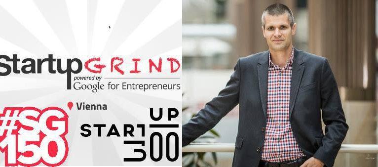 Michael Eisler bei Startup Grind Vienna