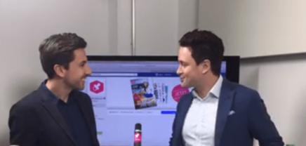 LIVE: Stefan Ponsold, der Founder und CEO von SunnyBAG