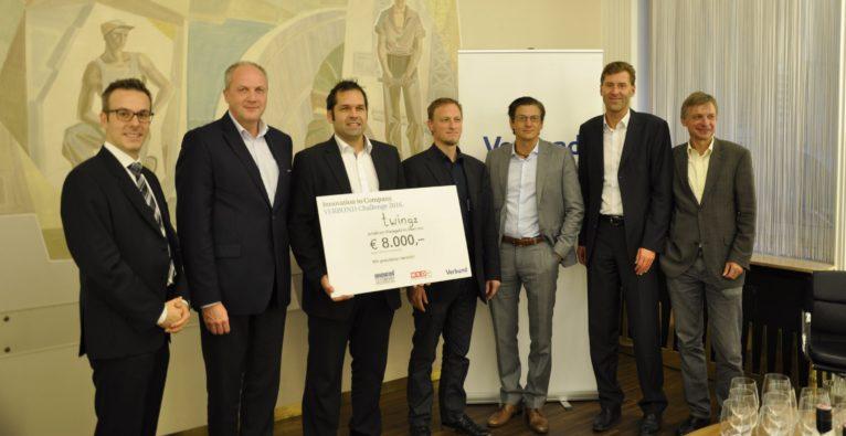 Twingz gewinnt Innovation to Company Challenge bei Verbund