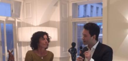 LIVE: Hannah Neunteufel, die Initiatorin und Geschäftsführerin von Viennabold