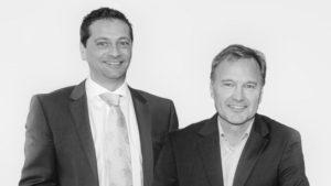 (c) Lichtprojekt: Die Founder Martin Aigner (l) und Franz Wöber