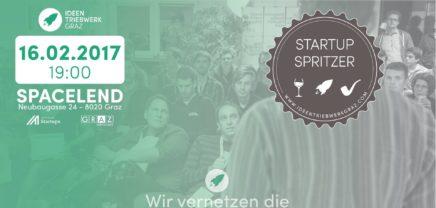 Startup Spritzer #26: Der Grazer Startup-Stammtisch