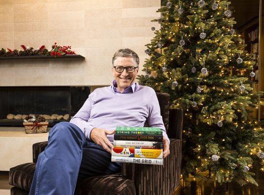 Bill Gates Lesetipps: Die lesenswertesten Bücher 2016