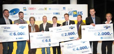 RIZ GENIUS Ideen- und Gründerpreis 2017