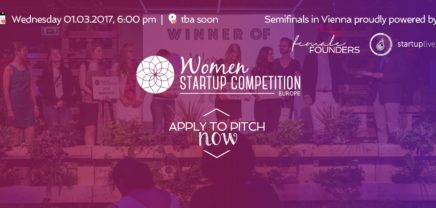 Women Startup Competition in Vienna, Semifinal Roadshow 2017