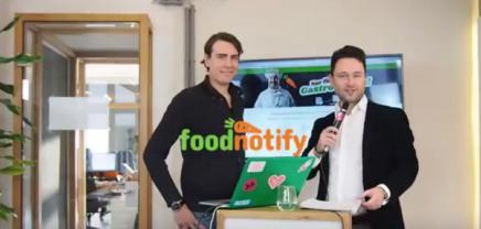 Live Interview: Thomas Primus, der CEO & Co-Founder von FoodNotify