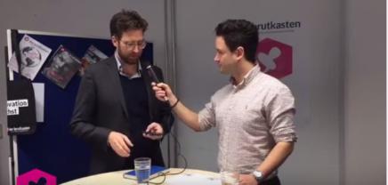 Live Interview: Besuch aus München vom Co-Founder der Spendit AG