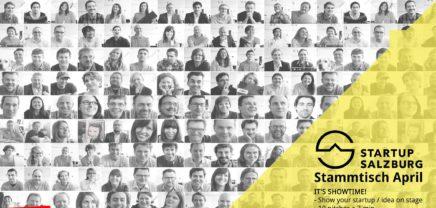 Startup Salzburg Stammtisch #23 / Showtime 3min3mio