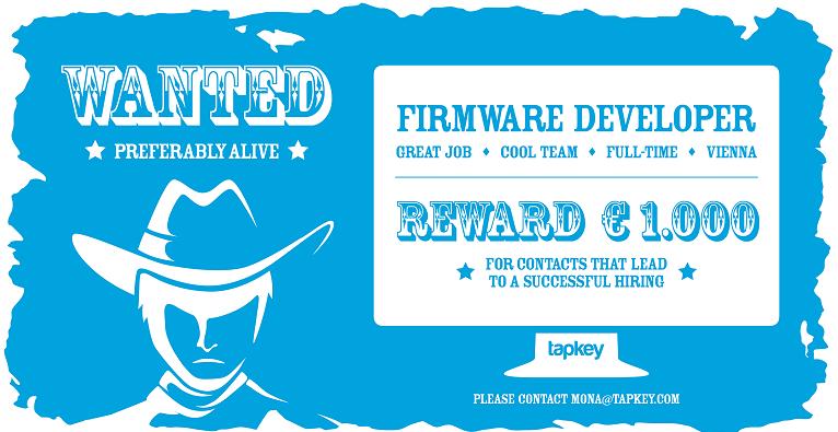 Firmware Developer (m/w) -Tapkey.