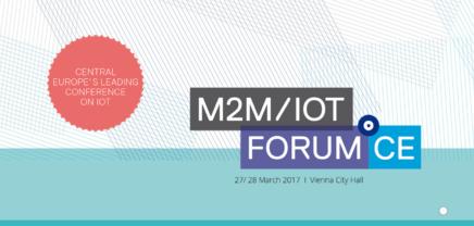 M2M/IOT Forum CE: Die Konferenz zum Internet der Dinge in Wien