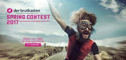 Spring Contest 2017: Jetzt bewerben!