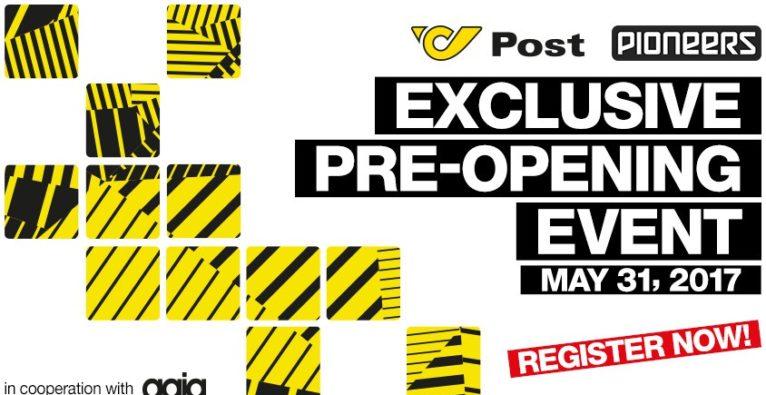 Die Post bringt euch aufs exklusive Pioneers Pre-Opening Event