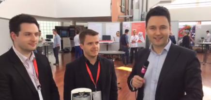 Live von der Startup Fair der Salzburg AG mit den Startups Oxto Energy aus London