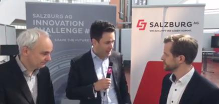 Live Interview: Georg Baumgartner, Head of Innovation der Salzburg AG und Daniel Schwarzbach, der Berater von What A Venture