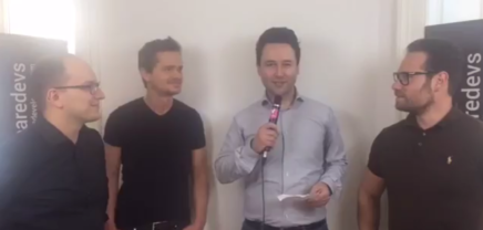 Live Interview: Ben Ruschin, Sead Ahmetović und Thomas Pamminger, die Co-Founder von WE ARE DEVELOPERS