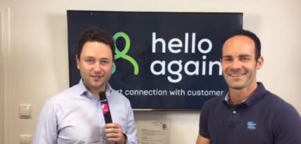 Live Interview: Franz Tretter, der Gründer und CEO von hello again