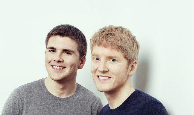 Die Stripe-Gründer Patrick und John Collison