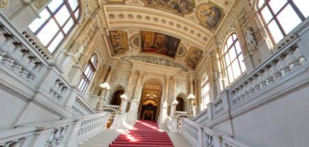 Das Burgtheater auf Google Arts & Culture
