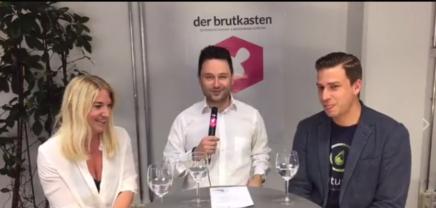 Live Stream: Georg Kuttner und Tanja Sternbauer, die Managing Partner von Startup Live