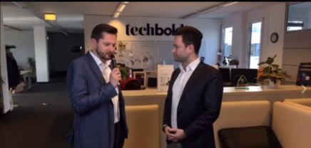 Live Stream: Damian Izdebski, der CEO von techbold
