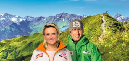Gewinnspiel: Mit Spitzensportlern beim Wandern Erfolg erlernen