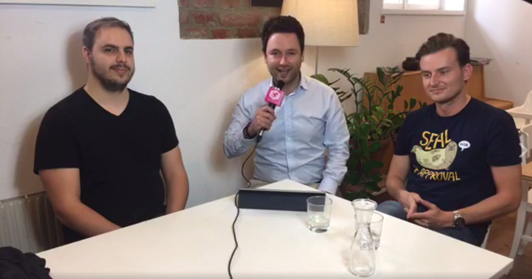 live mit eric demuth und paul klanschek die co founder vom wiener fintech bitpanda. Black Bedroom Furniture Sets. Home Design Ideas
