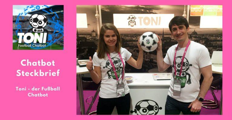 Chatbot Steckbrief: Toni – der Fußball Chatbot