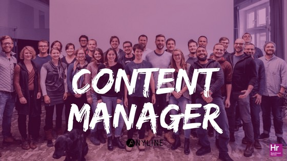 Content Manager (m/f) – Anyline