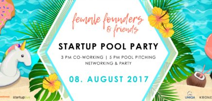 Female Founders: Erste Startup Poolparty in der Wiener Pratersauna